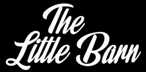 Logo for The Little Barn in pillow script